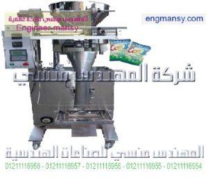 ماكينه تعبئة وتغليف جميع انواع الحبيبات 1كجم ارز سكر فول حمص عدس الخ ميكانيكا